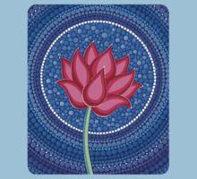 Splendid Calm Lotus Flower Kids Clothes