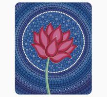 Splendid Calm Lotus Flower Baby Tee