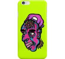 Burnout - Green Background Version iPhone Case/Skin
