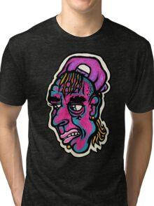 Burnout - Black Background Version Tri-blend T-Shirt