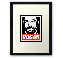 Rogan - Joe Rogan Experience Framed Print