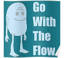 Rick and Morty King Jellybean Go With The Flow Poster