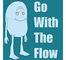 Rick and Morty King Jellybean Go With The Flow Photographic Print