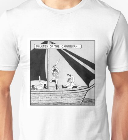 Pilates of the Caribbean Unisex T-Shirt