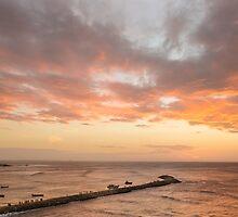 Sunrise in Kanyakumari, India by Jitesh Chauhan