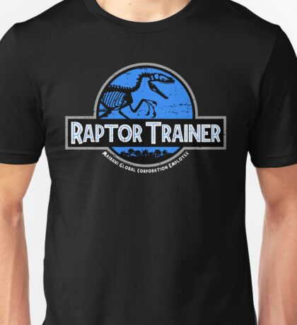 Jurassic World Raptor Trainer Unisex T-Shirt