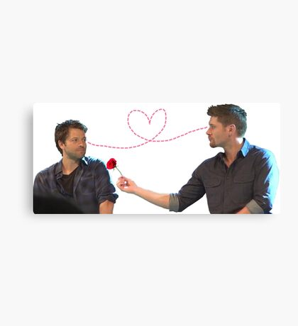 Destiel // Cockles  Canvas Print