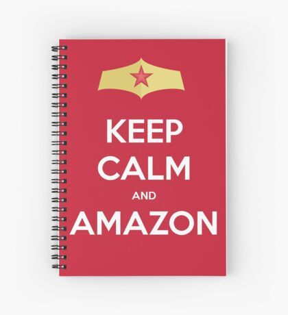 Keep Calm and Amazon Spiral Notebook