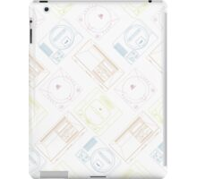 Sega outlines (white) iPad Case/Skin