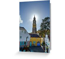 The Bell Tower at PortMeirion Greeting Card