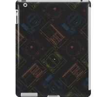 Sega outlines (black) iPad Case/Skin
