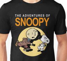 Tin Tin Snoopy Unisex T-Shirt