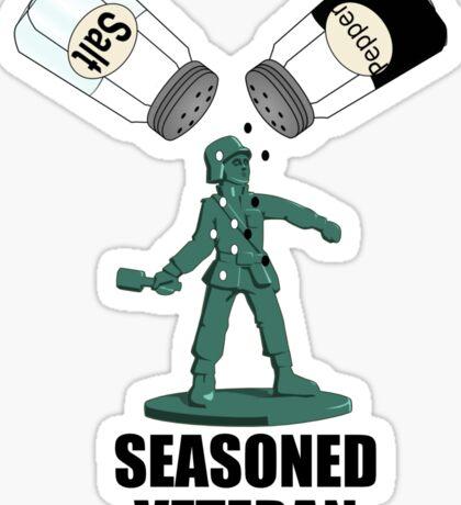 Seasoned Veteran Sticker