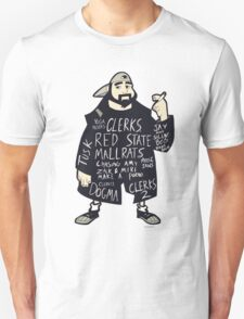 The Works Of Kevin Smith Unisex T-Shirt