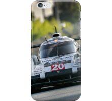 Porsche 919 racing at Le Mans ... iPhone Case/Skin
