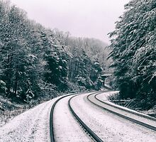Snowy Travel by MichelleAyn