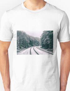 Snowy Travel Unisex T-Shirt