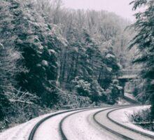 Snowy Travel Sticker