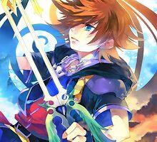 Kingdom Hearts - Sora by Unsigned