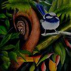Rainforest Chatter      (sold) by Sandra  Sengstock-Miller