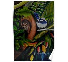 Rainforest Chatter      (sold) Poster
