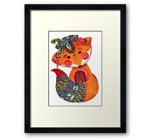 The Prince of Fox Framed Print