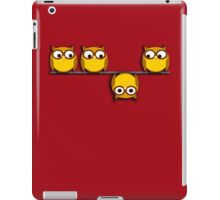 A whole new perspective for the owl iPad Case/Skin