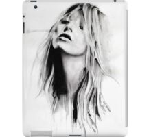 Hot chick, bad pic iPad Case/Skin