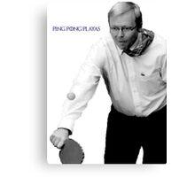 Kevin Rudd  Canvas Print