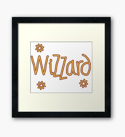 Wizzard Framed Print