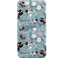 Funny cats in love  iPhone Case/Skin