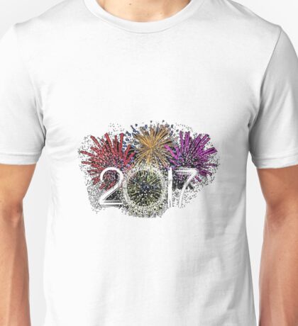 Happy New Year 2017 Unisex T-Shirt
