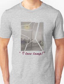 """I Love Lamp"" Anchorman Quote Unisex T-Shirt"