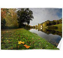 Painshill Lake, Autumn Poster