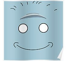 Rick and Morty King Jellybean Face Poster