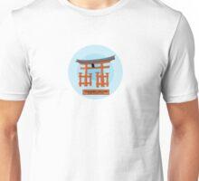 Miyajima - The gate of the Itsukushima Shrine in Japan Unisex T-Shirt