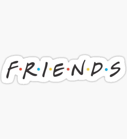 FRIENDS (TV SHOW) Sticker