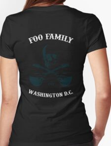 Foo Family Washington D.C. (Sonic Highways edition) Womens Fitted T-Shirt