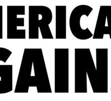 AMERICANS AGAINST TRUMP Sticker