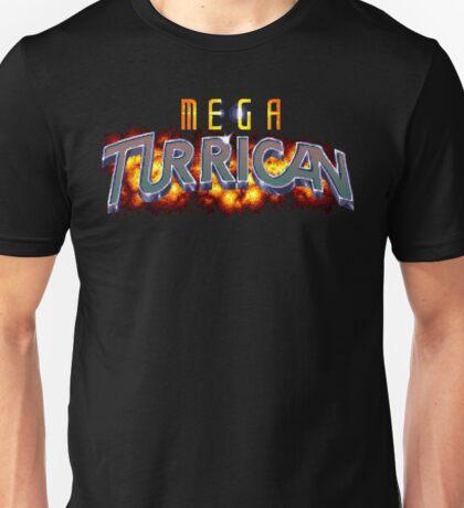Mega Turrican (Genesis Title Screen) Unisex T-Shirt