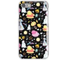 pattern of Halloween characters  iPhone Case/Skin