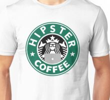 Hipster Coffee Unisex T-Shirt