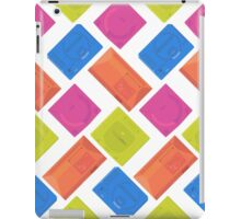 Sega neon (white) iPad Case/Skin