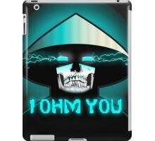 RAIDEN SKULL: I OHM YOU iPad Case/Skin