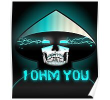 RAIDEN SKULL: I OHM YOU Poster