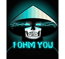 RAIDEN SKULL: I OHM YOU Photographic Print