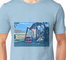 Bus on Bridge Vintage Volkswagen VW Westfalia Unisex T-Shirt