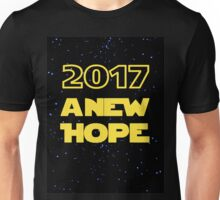 2017 A New Hope Star Wars New Year Unisex T-Shirt