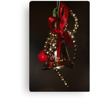 Christmas bell Canvas Print