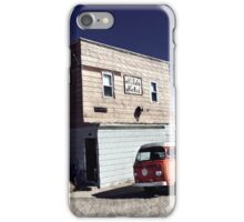 Retro Bus Hotel Volkswagen Vintage Westfalia VW iPhone Case/Skin